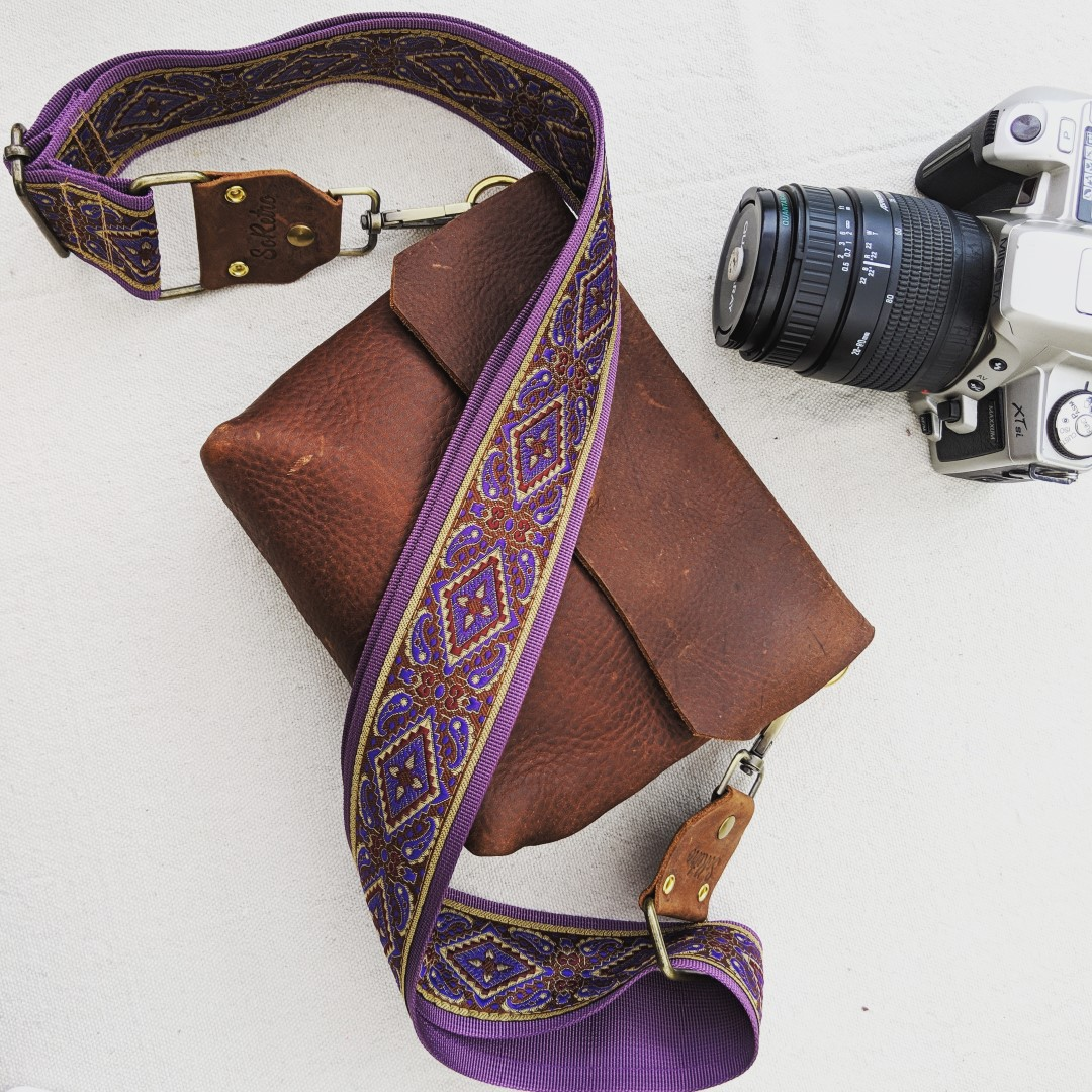 Custom SoRetro Bag, Camera, & Purse Strap - Adjustable